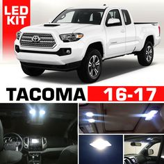 2017 tacoma interior lights