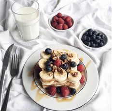 Imagen de food, fruit, and breakfast