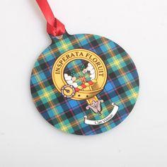 Watson Clan Crest Christmas Ornament