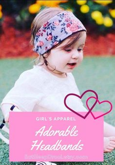 Baby headbands girls headbands trendy baby clothes