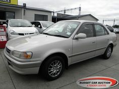 Toyota Corolla ex rental  For Sale  $3,500.00    Year:   1996  Manufacturer:   Toyota  Model:   Corolla ex rental   Engine:   1498  Fuel Type:   Petrol  Transmission:   Automatic  Mileage:   212618 km  Exterior Colour:   Beige  Doors:   4  Body Style:   Sedan  Stock #:   8667    Features:  ABS, Central Locking, Power Windows, Power Steering