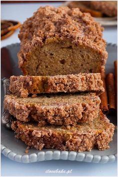 Zdjęcie: Ciasto bananowe z cynamonem Cookie Recipes, Snack Recipes, Dessert Recipes, Snacks, Desserts, Sweets Cake, Sweet Bread, Food Inspiration, Banana Bread