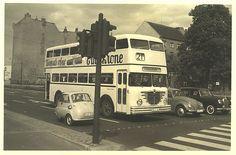 Doppeldeckerbus West-Berlin 1959