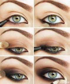 Natural look eye makeup tutorial
