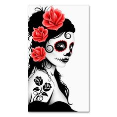 Day of the Dead Queen 130x250 Crochet Graph by WoolyBearPatterns