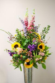 Best 25 Tall Flower Arrangements Ideas On Pinterest