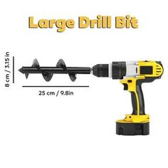 UltraGarden™ - Spiral Drill Bit – saturnprimeco Best Uniforms, When To Plant Vegetables, Types Of Soil, Drill Bit, Easy Garden, Take Care Of Yourself, Amazing Gardens, Spiral, The Neighbourhood