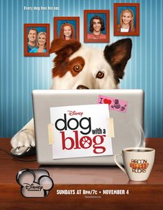 "Video: See What Is Happening On Disney Channel's ""Dog With A Blog"" This Season"