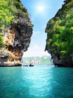 Exploring Krabi in Phang Nga Bay Thailand