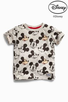 Buy All-Over Print Mickey Mouse™ T-Shirt (3mths-6yrs) from the Next UK online shop