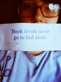 I always have at least one book in my bed
