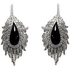 Earrings Pinterest Black