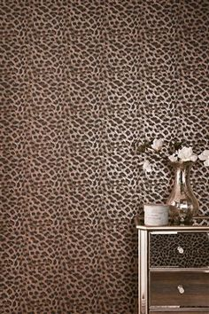 I need a room with Leopard Print Wallpaper !