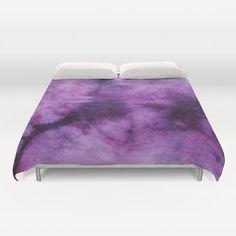 Duvet Cover-Comforter Cover-Tie Dye Bedding-Purple Plum-Blanket Cover-King Queen Full Twin by LKBcolour on Etsy https://www.etsy.com/listing/217210750/duvet-cover-comforter-cover-tie-dye