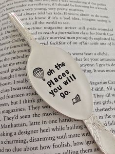 For such a time custom designed spoon/bookmark. Fork Art, Spoon Art, Metal Stamped Bracelet, Stamped Jewelry, Fork Crafts, Easy Crafts, Metal Art Projects, Metal Crafts, Spoon Jewelry