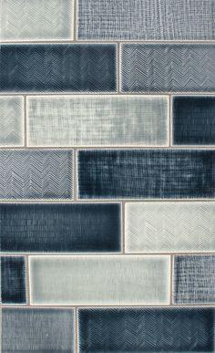 Blue tile looks fantastic as a liner!