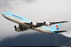 Boeing 747-8B5 - Korean Air | Aviation Photo #4099515 | Airliners.net Jet Airways, Korean Air, Boeing 747, Air Travel, Airplane, Aviation, Aircraft, Commercial, Photos