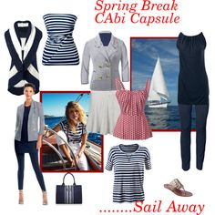 """""""Spring Break!"""" #CAbi is so packable!  This will give you more than a weeks worth of outfits each day! www.amymaslowski.cabionline.com"""