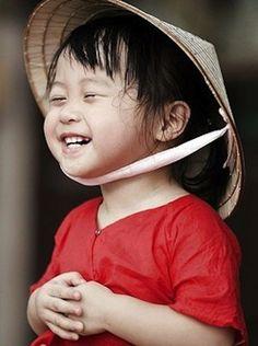 Precious Chinese smile