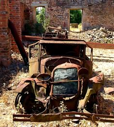 Oradour sur Glane. WW II monument in France, the village was left behind by the German army after killing the inhabitants and is never changed after that.