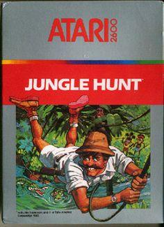 Jungle Hunt on Atari 2600