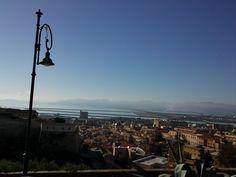Vista di Cagliari da Buoncamino