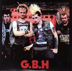 Charged GBH punk band!