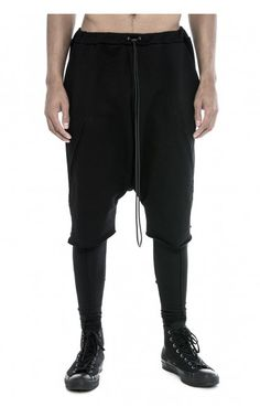 Physical Novel zip shorts from unconventional