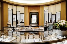 Boutique Jaeger-LeCoultre Madrid interior