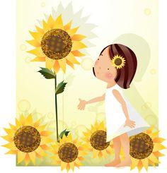 Crianças - GATAG   ilustração gratuito coleta de material