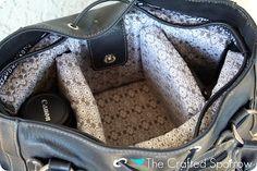 DIY Camera Bag Tutorial (Insert)
