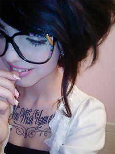 Des lunettes énooooormes !