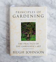 We're starting the morning with another book for your Inspiration Library: 'Principals of Gardening' a classic and practical guide to 'the outdoor arts'. #boks #gardens #gardening