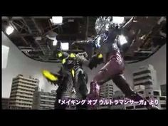 "Making of ""Ultraman Saga"""