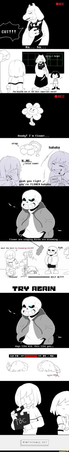 Behind the scenes of undertale!