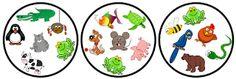 Funglish: Dobble - Animals English Games, English Fun, Matching Games, Board Games, Free Printables, Diy Crafts, Teaching, Activities, Education