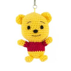 A new free pattern for the Winnie the Pooh fans!  Now you can expand your collection with Roo, the little kangaroo :)  Roo will be about 9 cm tall and just like his friends he can be used as a key chain.  Pattern is available in:          Translations: Iratxe Ocariz (ES), Krüml (DE), Anaïs Déka Bros (FR), Jette Klemmensen (DK), Bruna Otsuji (PT)