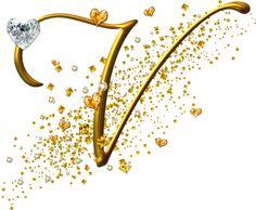 View all images at Alfabeto dourado folder Alphabet Design, Monogram Alphabet, Alphabet And Numbers, Alphabet Fonts, Alphabet Wallpaper, Name Wallpaper, V Letter Tattoo, J Calligraphy, Hello Kitty Imagenes