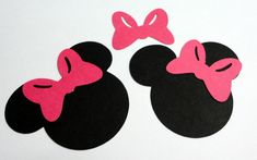Image for Minnie Bow Template