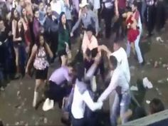 Cowboys fight...!!! Caught on camera  breaks out VS fans  @ Cowboy concert