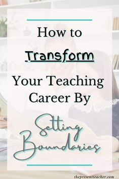 Are you teaching virtually and feeling teacher burnout? Click now to read how Boundaries can save your teaching career. Teacher Blogs, Teacher Hacks, Teacher Resources, Classroom Management Tips, Classroom Organization, Mindfulness For Teachers, 1st Year Teachers, Teacher Must Haves, Learning Theory