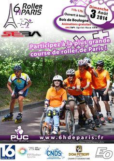 Plus que quelques jours pour s'inscrire à la 2ème édition des 6h #Roller de Paris avec HawaiiSurf !