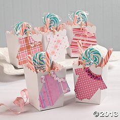 Onesie Baby Shower Favors, Party Decoration and Favor Ideas, Party Themes & Events - Oriental Trading