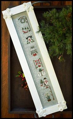 Free Gift w/Pre-Order NEW Winter ABCs counted cross stitch patterns by Little House Needleworks at thecottageneedle.com by thecottageneedle
