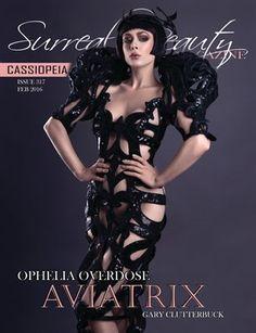 Surreal Beauty Mag: Cassiopeia | Issue 317 Feb 2016 - p Beauty Magazine, Over Dose, Surrealism, Wonder Woman, Superhero, Model, Scale Model, Wonder Women