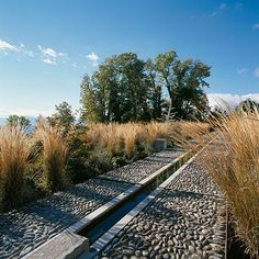 Irrigation-canal-and-pebbles-callada « Landscape Architecture Works | Landezine