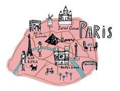 Bonnie Dain Paris Print