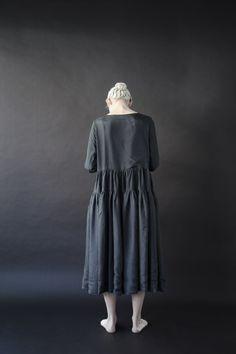 Egg   casey casey silk dress