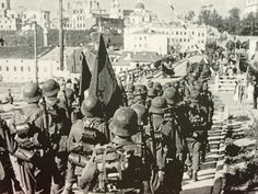 Spanish Blue Division. Leningrad 1941