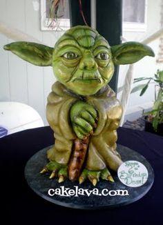 Yoda cake?!